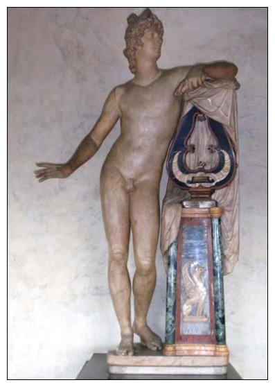 Apollo with Lyre Friends of the Uffizi Gallery