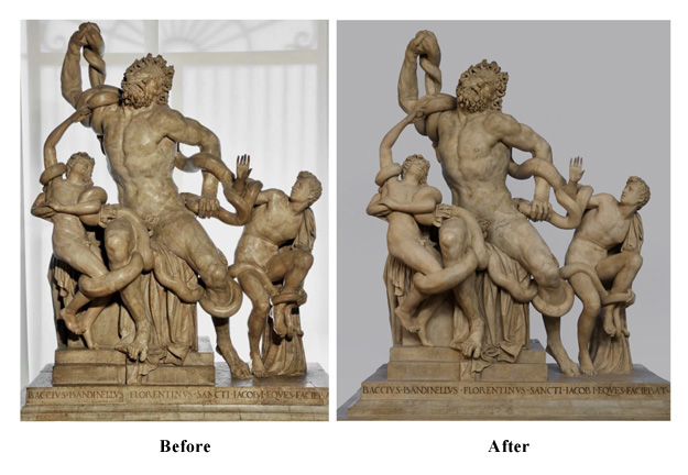 laocoon and his sons sculpture analysis