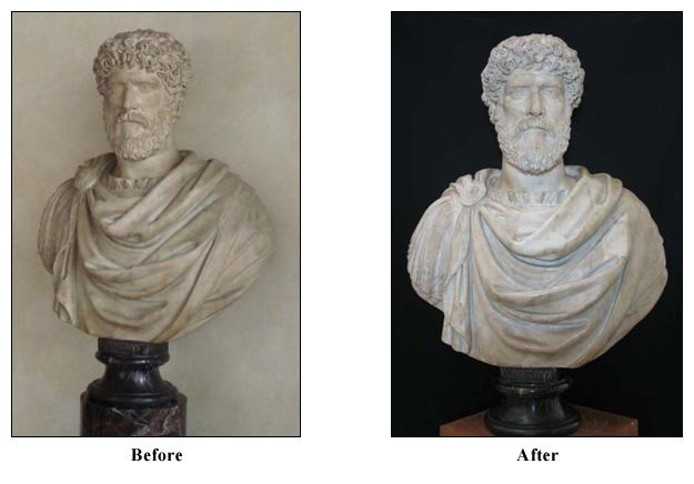 Portrait Bust of Commodus